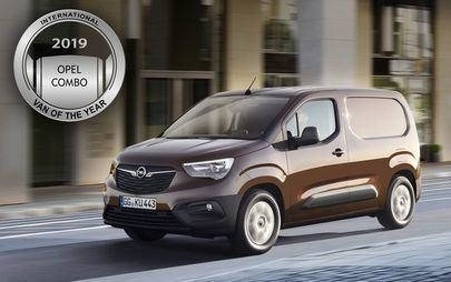New Opel Combo voted International Van of the Year 2019